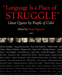 Link to Beacon Press page for Language is a Place of Struggle: Great Quotes by People of Color