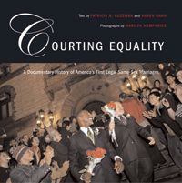 Courting Equality Book Cover, links to Beacon Press page for book