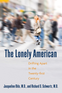 Cover of the Lonely American links to Beacon Press page for book