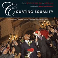 Book Cover for Courting Equality links to Beacon Press page for book