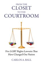 Book cover for From the Closet to the Courtroom