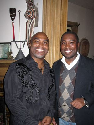 Photo of Daniel Omotosho Black and Major Jackson