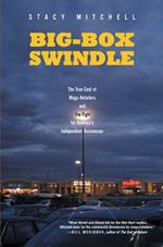 book cover for Big Box Swindle