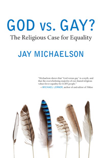 Book cover for God vs. Gay by Jay Michaelson