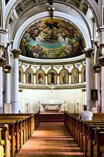 St Leonard's Church, North End, Boston