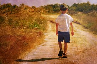 Bigstock-Child-on-the-road-18703625