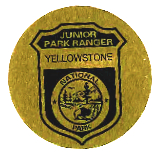 Junior Park Ranger Badge, Yellowstone National Park