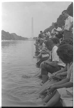 Demonstrators at the 1963 March on Washington