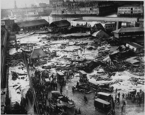 1919 Molasses Flood site