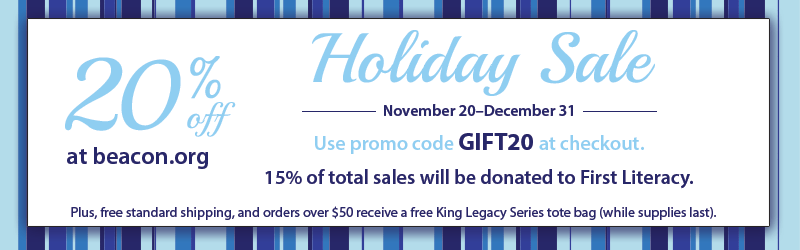 Beacon.org Holiday Sale! Save 20% with promo code GIFT20!