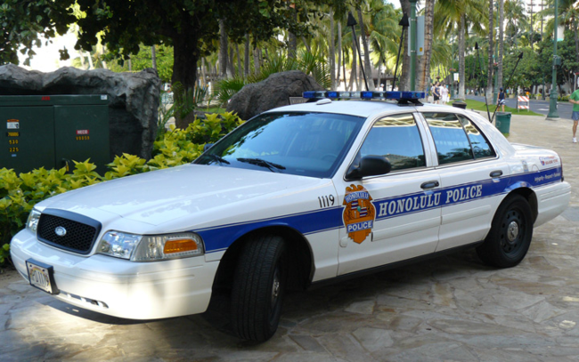 Honolulu_Police_Car