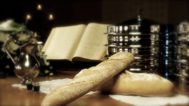 Christianity would not exist without bread. Or if it did, the tradition would be in a form unrecognizable to Christians then and now.