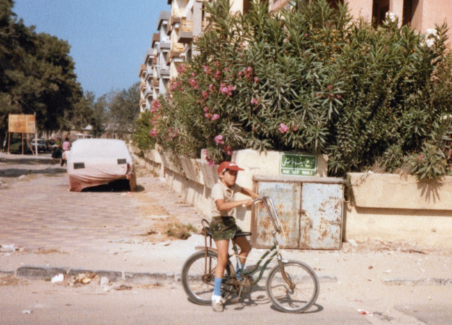 Mohammed Shamma in Egypt, 1982