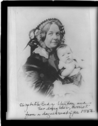 Elizabeth Cady Stanton, Library of Congress