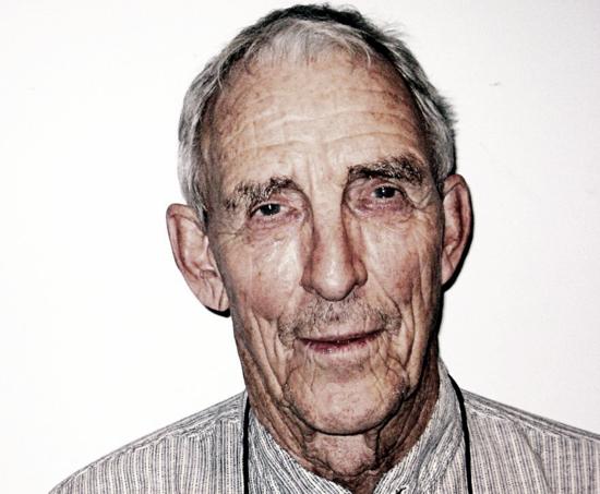 Peter Matthiessen in 2008 (courtesy Melissa Eagan, WNYC New York Public Radio)