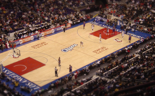 L.A. Clippers (via Wikimedia Commons)