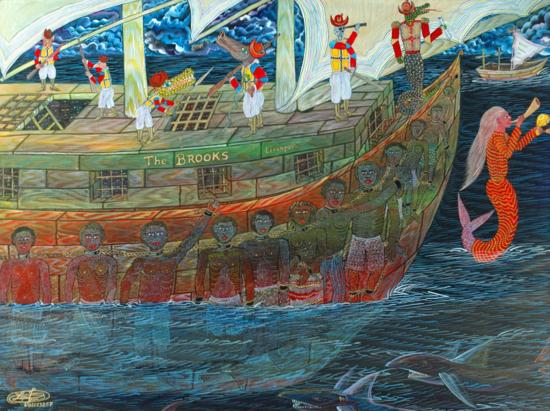 """The Slave Ship Brooks"" by Frantz Zéphirin"