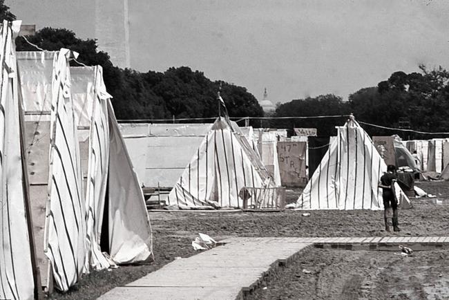 Resurrection City, Washington DC,1968
