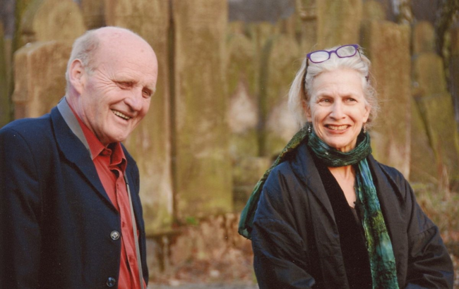 Maciej Ziembinski and the author (photo by Tomasz Cebulski)