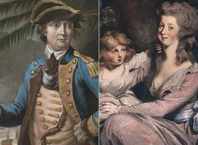 Benedict Arnold and Peggy Shippen