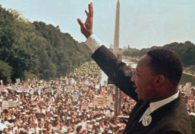 Martin Luther King, Jr. at the 1963 March on Washington