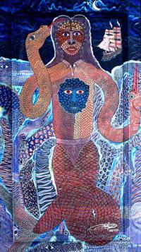 """The Spirit of the Indian Facing Colonization"" by Frantz Zéphirin"