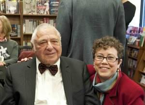 Susan Katz Miller with Rabbi Harold White
