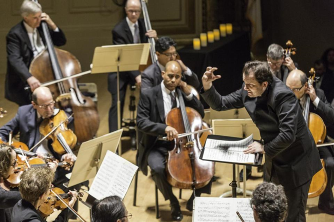 Members of the Boston Symphony Orchestra conducted by Andris Nelsons