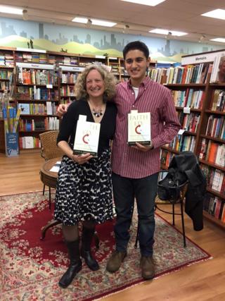 Linda K. Wertheimer with Zain Tirmizi