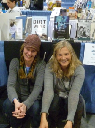 Eva & Christine at the 2013 Associated Writers & Writing Programs Conference