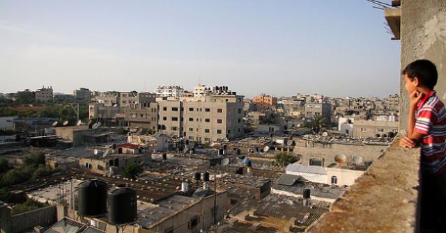 A view of Jabalia refugee camp