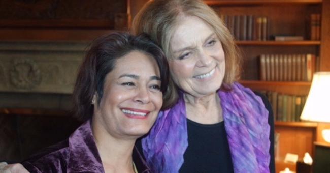 Deborah Jiang-Stein and Gloria Steinem