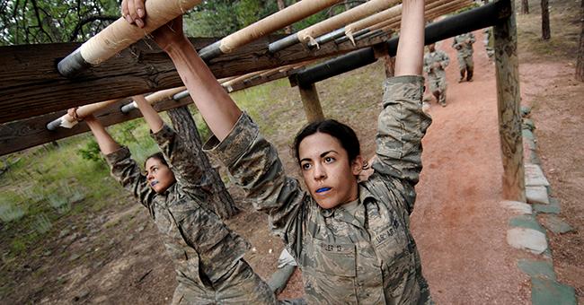 Academy basic field training at Jacks Valley