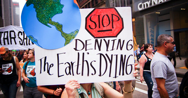 Stop Denying the Earth is Dying