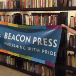 Beacon Press Marches in Boston Pride