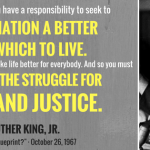 "The 50th Anniversary of Martin Luther King, Jr.'s ""What Is Your Life's Blueprint?"""