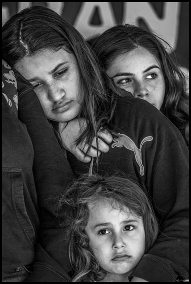 Children of a detainee