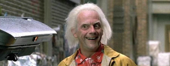 Back to the Future's Doc Brown