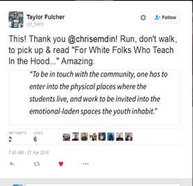 Fulcher Tweet for Emdin