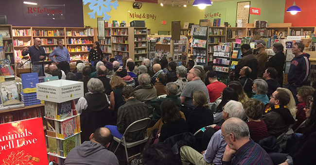 Steve Early speaks at Porter Square Books