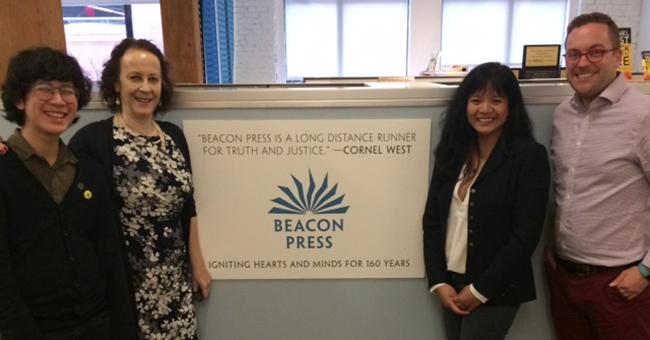 Sasha Pimentel and Beacon Press Staff