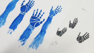 Hand imagery for For Want of Water