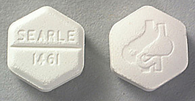 Cytotec pills containing 200 mcg misoprostol (Manufacturer: Searle)