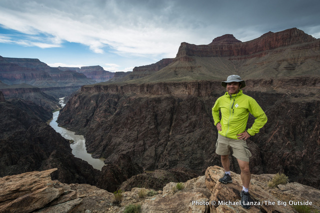 Lanza in the Grand Canyon