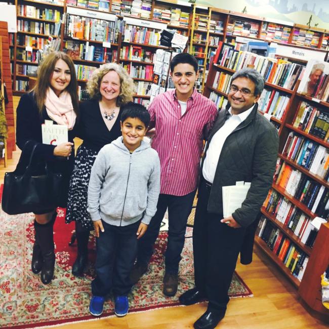 Tirmizi Family with Linda K. Wertheimer