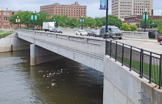 Flint River Bridge, Flint, Michigan