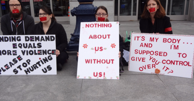 Sex Workers Demand Inclusion, 2/11/2014