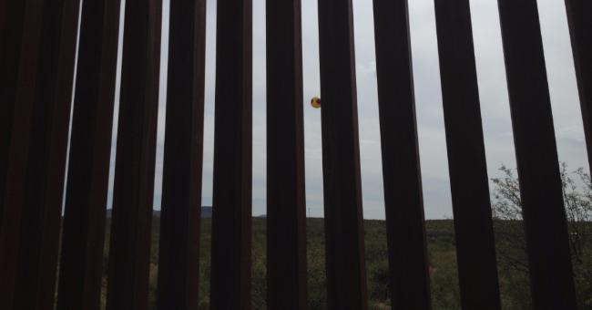Scare Eye through the Border