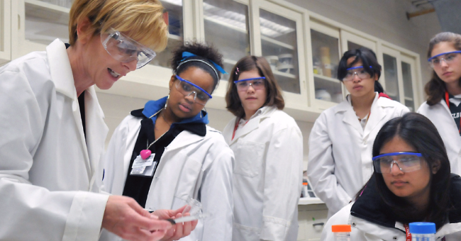 Science Careers in Search of Women