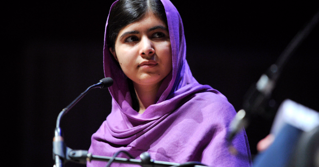 Malala Yousafzai at Women of the World Festival, 2014